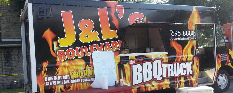 The Bbq Food Truck Buffalos Best Bbq Jl Boulevard